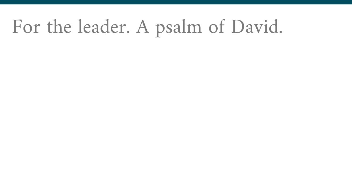 Psalms 41:1
