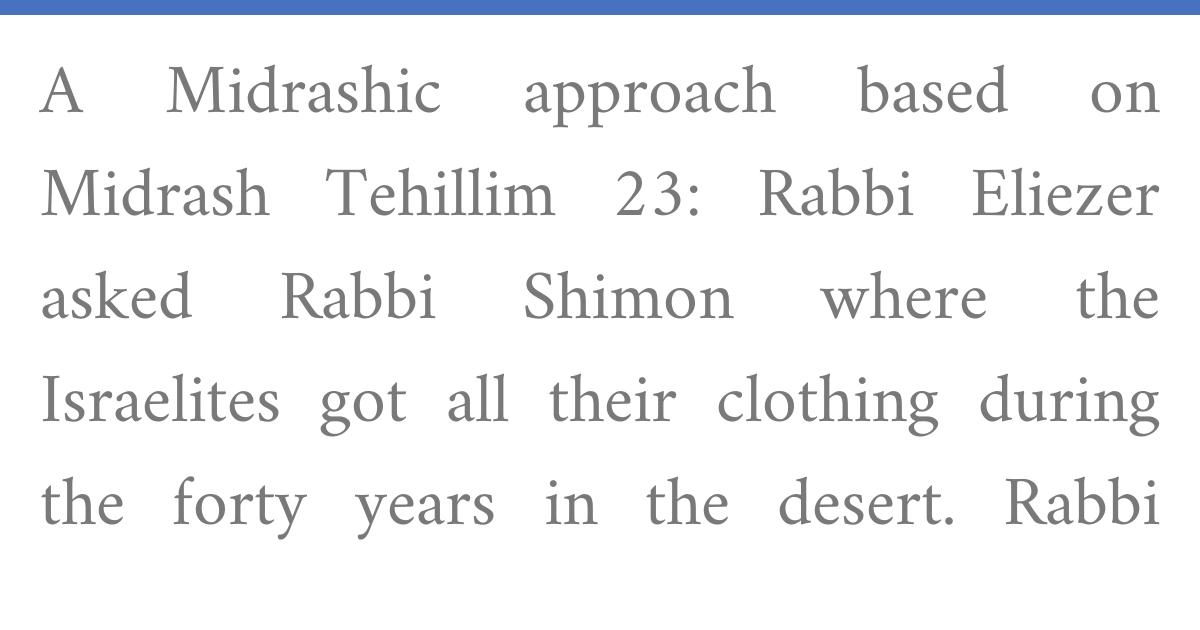 Rabbeinu Bahya, Devarim 8:4:2