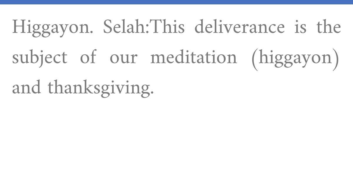 Radak on Psalms 9:17:4